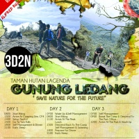 LEDANG 3 DAYS 2 NIGHTS –  ALFRED RUSSEL WALLAGE