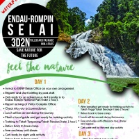 SELAI 3 DAYS 2 NIGHTS – WATERFALL HUNTER